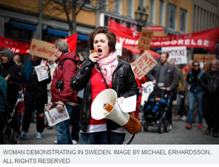 demonstration-sweden
